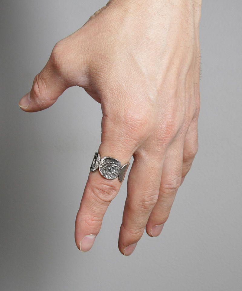 【VIVIFY(ビビファイ)】【予約販売ご注文から1ヶ月後出荷】Ancient Coin Ring(VFR-134)