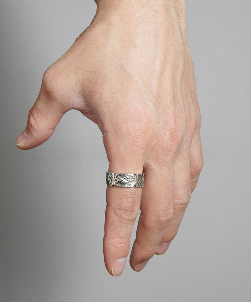 【VIVIFY(ビビファイ)】【予約販売ご注文から1ヶ月後出荷】Ancient CutCoin Ring w-gold(VFR-137)