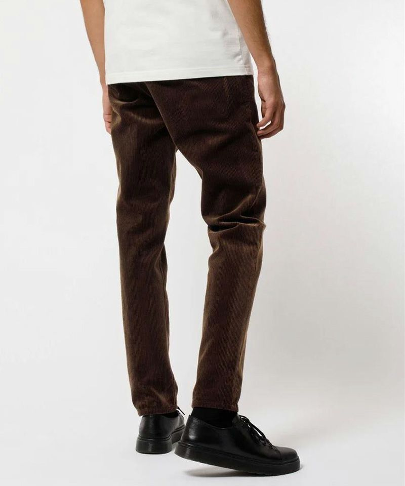 【Nudie Jeans(ヌーディージーンズ)】Easy Alvin 110 Brown Cord パンツ(120185030)