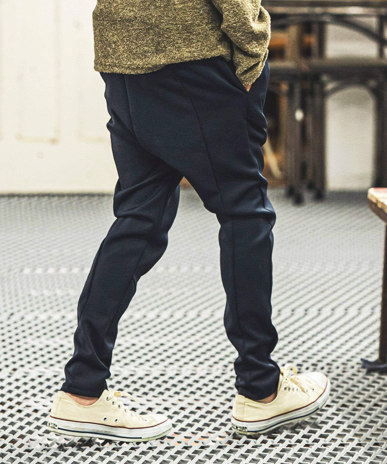 【CAMBIO(カンビオ)】【予約販売11月中旬~下旬入荷予定】Ponti Sarrouel Easy Pants イージーパンツ(CAM21AW-013 )