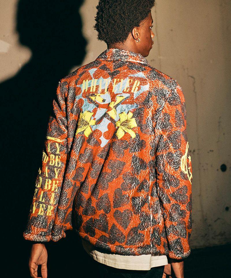 【glamb(グラム)】【予約販売11月上旬~中旬入荷】Grunge Boa JKT グランジボアジャケット(GB0421-JKT06)