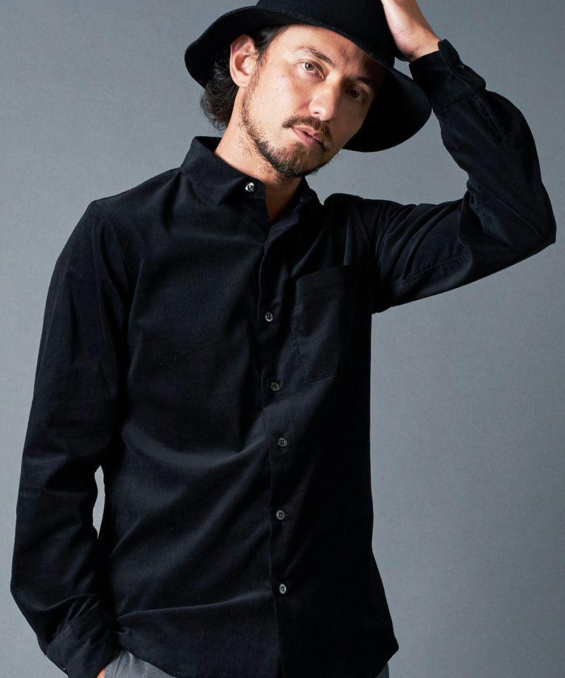 【Magine(マージン)】CORDULOY DRESS SHIRTS シャツ(2131-48)