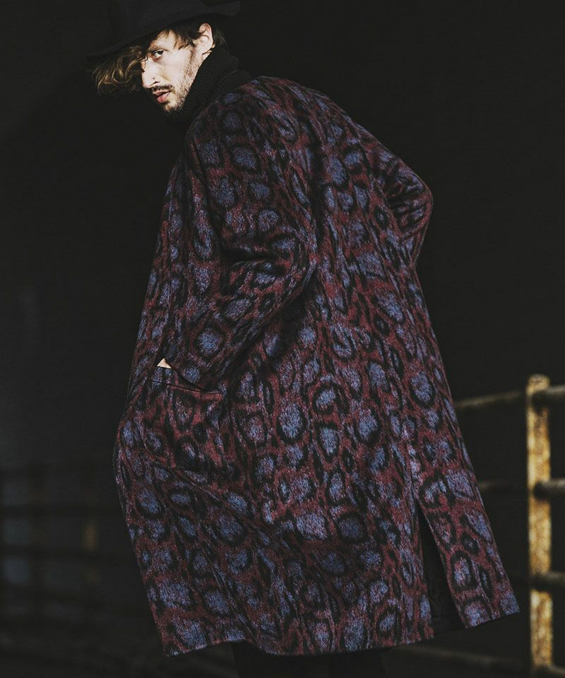 【NO ID.(ノーアイディー)】【予約販売11月上旬~中旬入荷】 BIGノーカラー中綿1B-JKT コート(849006-749C)